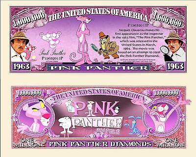 OUR PINK PANTHER BILL (2 Bills)