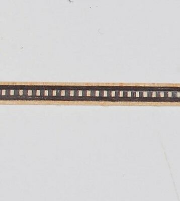 "Lot of Five - 1/5"" Minute Dental - Buffard Marquetry Banding Strip (Inlay-239)"