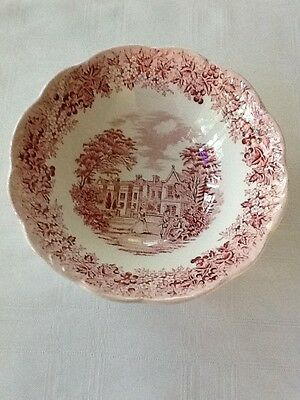 """J & G Meakin Romantic England 6 1/4"""" Cereal Bowl                         #1116"""