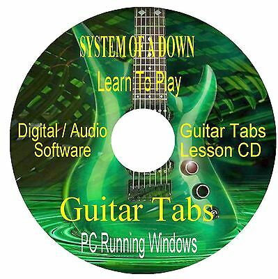 System Of A Down *GUITAR TABS * Software CD -  (24 Songs)