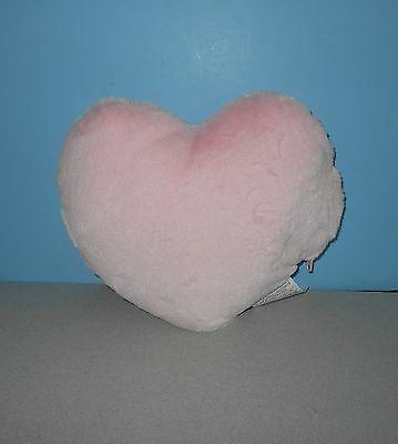 "14"" Glowing Red Decorative Pink Heart Valentine Pillow Stuffed Plush Ideavillage"