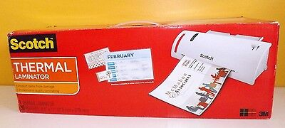 """3M TL902VP Scotch Thermal 9"""" Laminator Combo Pack, 20 Pouches 8-1/2""""x11"""","""
