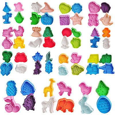 60 Sets U Pick Cookie Biscuit Cutter Mold Fondant Sugarcraft For Cake Decorating