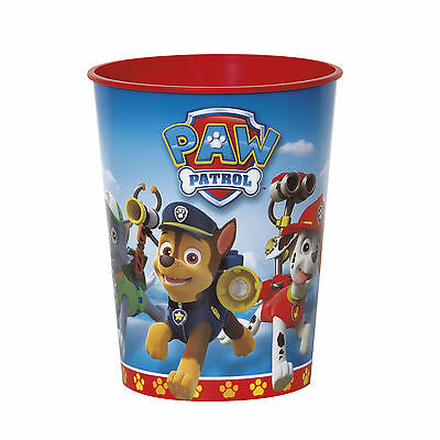 16oz Paw Patrol Rescue Puppy Pets Birthday Party Plastic Loot Treat Favor Cup