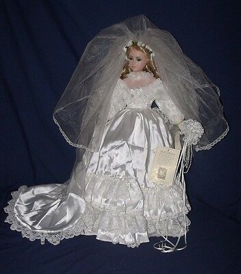 23 Inch Collectible Porcelain Bride Doll Caroline from J.C. Penny
