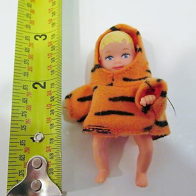 Barbie Happy Family Baby Krissy Infant Doll with Tigger Sweatshirt/Costume