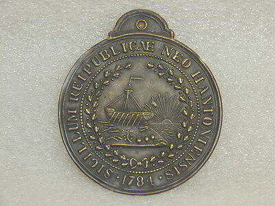 Antique New Hampshire State Seal Raised Stamp Master Die for Seal Press