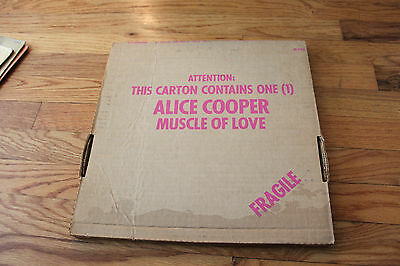 Alice Cooper - Muscle Of Love (LP) RARE! Cool Inserts!