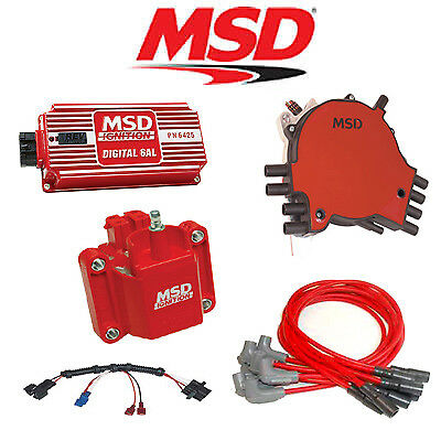 msd 9000 complete ignition kit digital 6al distributor wires msd 9032 ignition kit digital 6al distributor wires coil 92 94 corvette