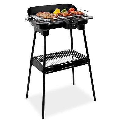 elektrogrill tischgrill 2 in 1 standgrill bbq elektro tisch grill elektrisch neu. Black Bedroom Furniture Sets. Home Design Ideas