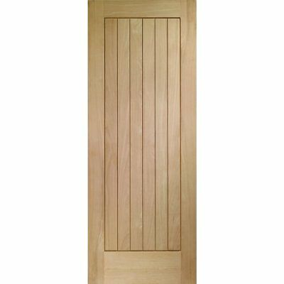 Internal Oak Door SUFFOLK Solid Wood Mexicano Cottage Style Panel Doors