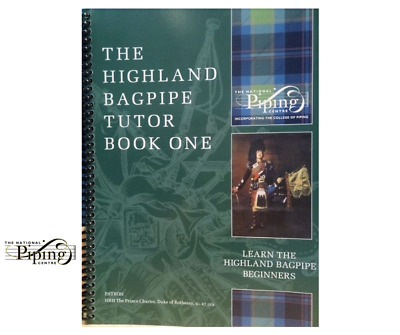 Highland bagpipe tutor book with instructural CD ROM from C.O.P. learn Pipes
