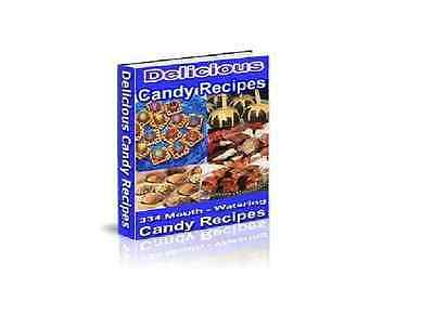 WOW, Learn how to make 334 mouth watering candy recipes (eBook-PDF file)