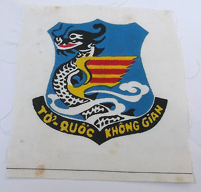 south vietnam air force  printed  cloth patch