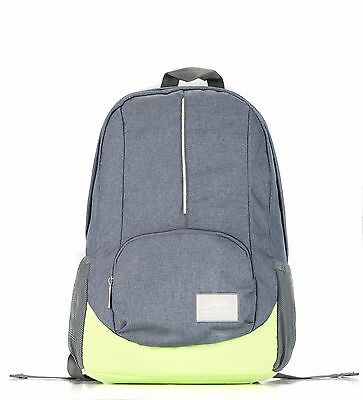 Bipra 15.6 inch Laptop Bag Backpack Suitable for 15.6 Inch Laptops (Grey&Green)