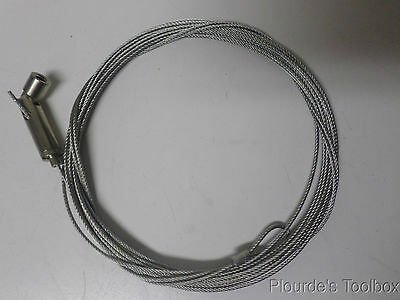 New Griplock Systems 20ft 2mm OD Wire Rope with Swivel Gripper, C18270260