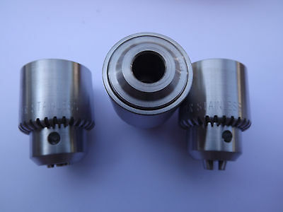 One! JACOBS 1M Keyed Drill Chuck Part #33338 (LOT OF 3)