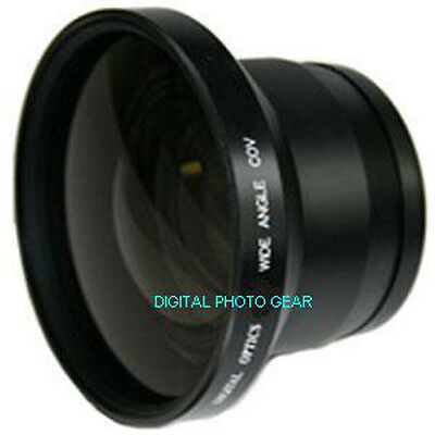 58mm Fisheye Wide Angle Lens with macro for Canon Rebel T6i T5i T5 SL1 18-55mm