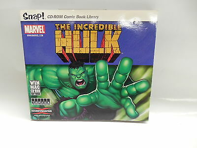 Incredible Hulk CD-Rom Comic Book Library Software Marvel Tales To Astonish