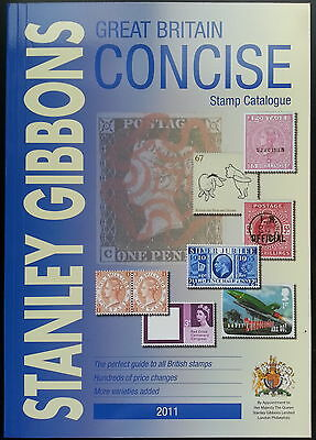 Stanley Gibbons 2011 Great Britain Concise Stamp Catalogue. Unused. RRP £29.95.