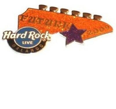 HARD ROCK CAFE PIN ORLANDO LIVE HEADSTOCK SERIES 3 OF 3-FUTURE ROCK STAR # 49673