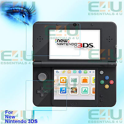 8 x Anti Blue Light Screen Protectors For New Nintendo 3DS 4 x Top + 4 x Bottom