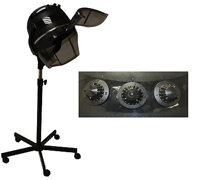 PROFESSIONAL HOODED BONNET Hair Dryer Wheels Stand Barber Beauty Salon  Equipment