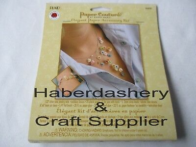 Plaid Jewelry Paper Accessory Kit Diy Daisies 80858