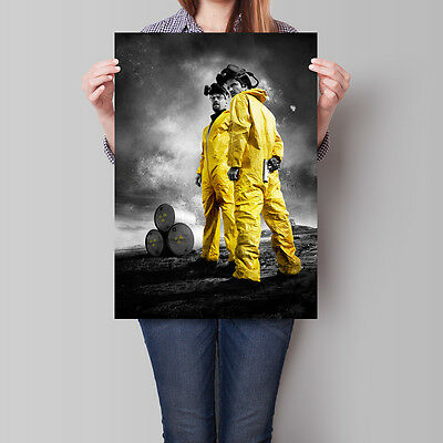 Breaking Bad Poster Walter White Jesse Pinkman  A2 A3 A4
