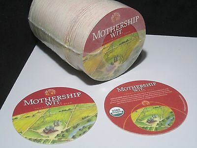 100 New Belgium Brewing Mothership Wit Original Wheat Bar Beer Coasters Fat Tire