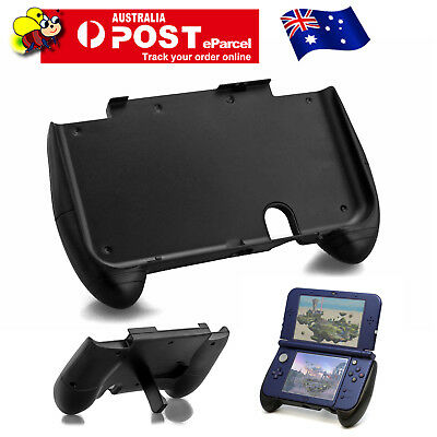 Black Hand Grip Handle Joypad Case Stand Holder Plastic for New Nintendo 3DS XL
