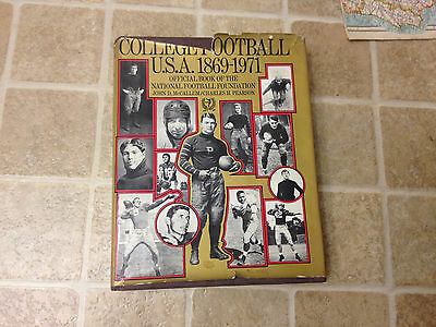 College Football, U.S.A., 1869-1971;: Official Book of the National Football...