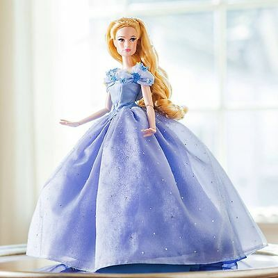 """Disney Limited Edition 17"""" Cinderella Doll - 2015 Live Action Film - In Hand"""