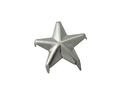 BORCHIE STELLA 16 mm SILVER SACCHETTO DA 25 STUD BST