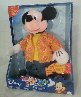 Mickey Mouse Mambo - Singing and Dancing - Very Rare - Disney Toy 2004 - NEW