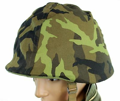 GENUINE CZECH ARMED FORCES HELMET COVER m95 CAMO PATTERN