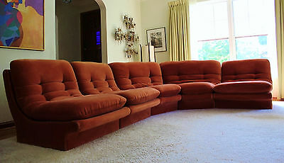 Mid Century Vladimir Kagan for Preview Sectional Sofa