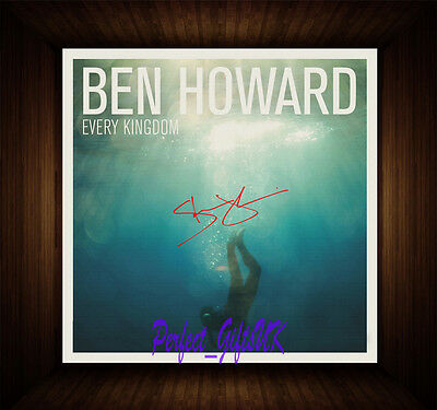 Ben Howard Every Kingdom PP Signed Autographed Framed Photo/Box Canvas Print