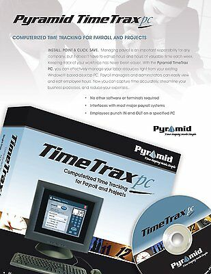 TimeTrax PC Time Clock Software
