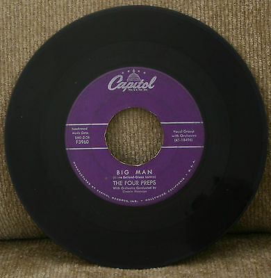 The Four Preps..Big Man & Stop, Baby.....Capitol.....45 RPM...VG Cond