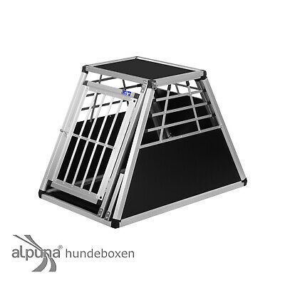 N45 Hundetransportb​ox Hundebox Aluminium Transportbox Alubox Autobox