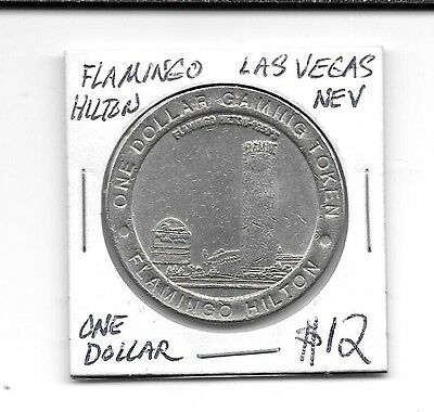 Flamingo Hilton Las Vegas Nevada 1 Dollar Casino Token