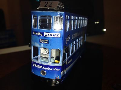 C7 excellent  Hong Kong 1:76 SanMiguel Train Tram Bus model Advertisement