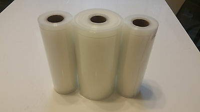 3-Pack 8X50 AND Two 8X20 Roll Food Freshing Vacuum Sealer Bags! $$$$ Saver Rolls