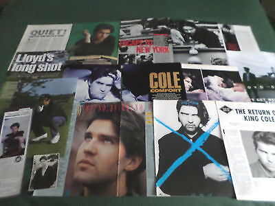 Lloyd Cole - Music Celebrity - Clippings /cuttings Pack