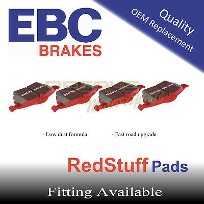 EBC Redstuff Rear Brake Pads for PEUGEOT 407 Coupe 3.0 TD, 2009-2010