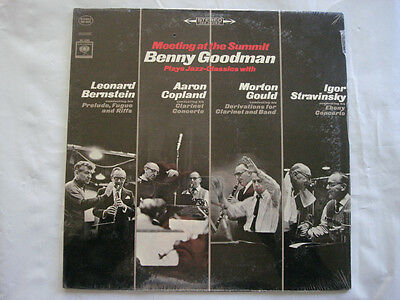 BENNY GOODMAN MEETING AT THE SUMMIT - MS 6805 - ~SEALED~