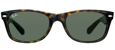 """100% Authentic Rayban """"New Wayfarer"""" RB2132 """"Tortoise Colored frame"""" 55mm"""