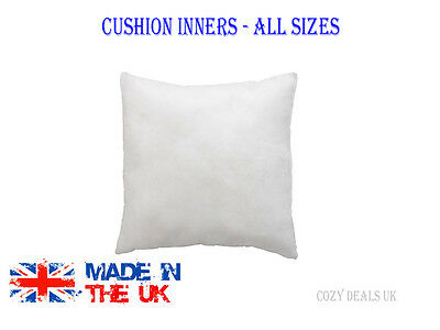 "Hollowfibre Cushion Pads Inserts Fillers Inners 12"" 14"" 16"" 18"" 20""  All Sizes"