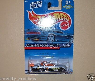 hw131  HOT WHEELS 2000 AT A TUDE  2/4 038 CAR SPEED BLASTER SERIES1/64 SCALE